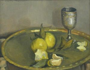 Still Life with Lemons and Goblet