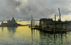 Evening_Looking_Towards_the_Grand_Canal_with_Santa_Maria_Della_Salute_in_the_Distance