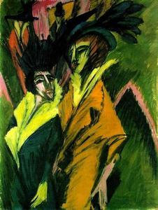 Two Women in the Street