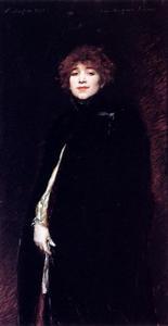 Portrait Of Juana Romani
