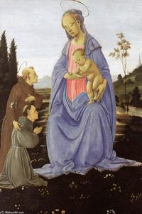 Madonna with Child, St Anthony of Padua and a Friar