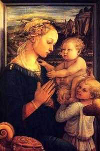 Virgin with Chilrden