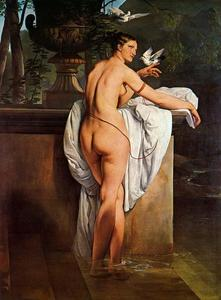 Venus Playing with Two Doves (Portrait of the Ballerina Carlotta Chabert)