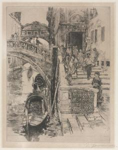 The Bridge of Sighs (second plate)