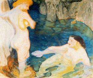 Tho bathers