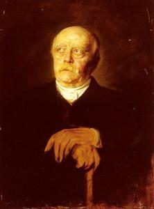 Portrait Of Furst Otto von Bismarck