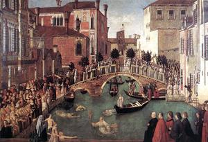 Miracle of the Cross at the Bridge of S. Lorenzo