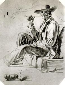 Study of a Woodboatman