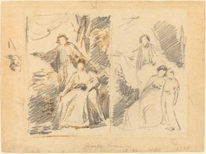 Two Studies for a Family Portrait