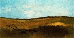 Landscape With Plow