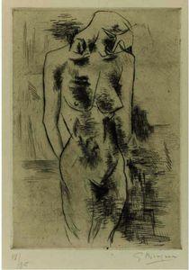 Nude study (Vallier 1)