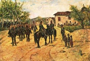 Resting cavalry