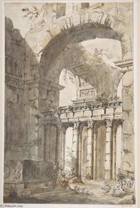 Ruins of a Basilica or Mausoleum