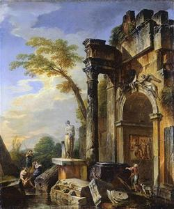 Ruins of a Triumphal Arch