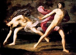 Hipomenes and Atalanta