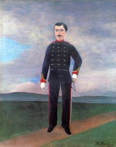 Portrait of Frumence Biche in Uniform