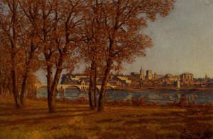 the castle of popes in Avignon