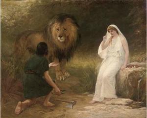 乌纳和狮子