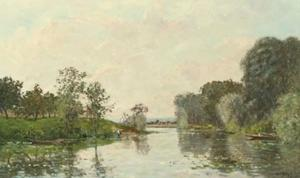 A River Landscape, Summer