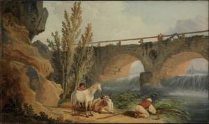Bridge over a Cascade