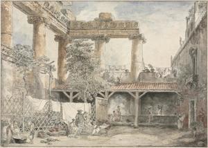 Roman Ruins, Villa Pamfili
