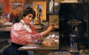 Artist's studio. Maria Antonia Proietti