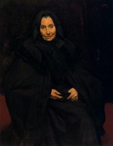 The painter's mother (Dominica Ruiz de Olano)