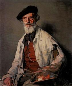 The painter Uranga