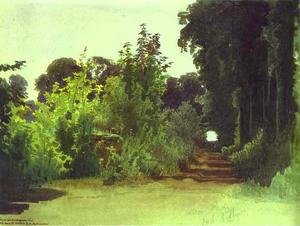 In the Grove of Medon near Paris