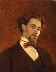 Portrait of the Artist Konstantin Savitsky