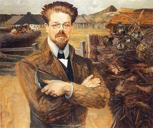 Portrait of Wladyslaw Reymont