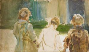 Study of Three Young Boys
