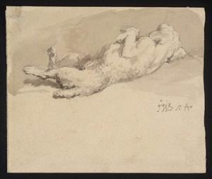 James Ward A Dog Lying Down