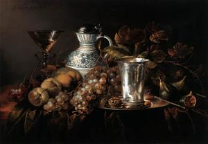 Fruit Still-Life with a Silver Beaker