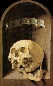 Trompe-l'oeil Skull