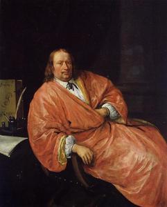 Portrait of Gerrit Gerritsz Schouten