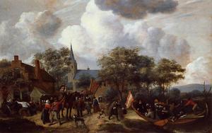 Village Festival with the Ship of Saint Rijn Uijt