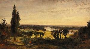 Richmond Hill and the Thames, London