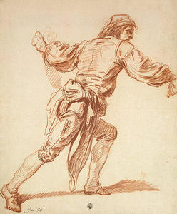 Study of a Man with His Arm Swung Back