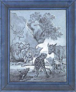 The Plague-stricken Animals