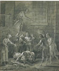 В Rapinière падает на коза