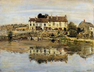 Small Houses on the Banks of the Oise