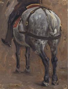 Study of horse and rider