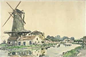 Mill in Rotterdam