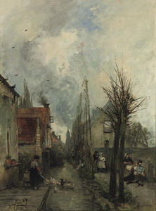 The canal, Delft