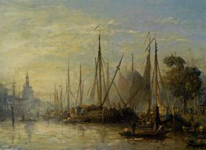 The port of Rotterdam 1