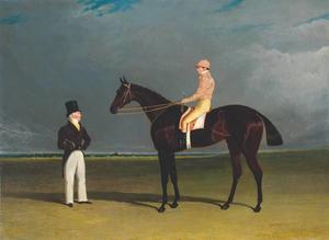 Birmingham with Patrick Conolly Up, and his Owner, John Beardsworth