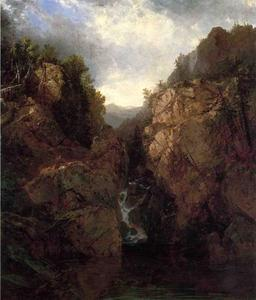 A Woodland Waterfall