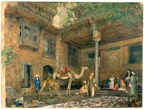 Courtyard of the Painter's House, Cairo