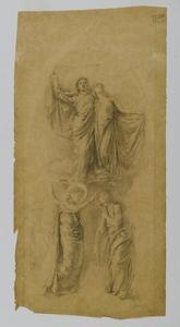 ángel `placing` el sello